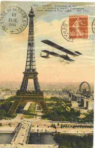 The Eiffel Tower, Paris. Constructed for