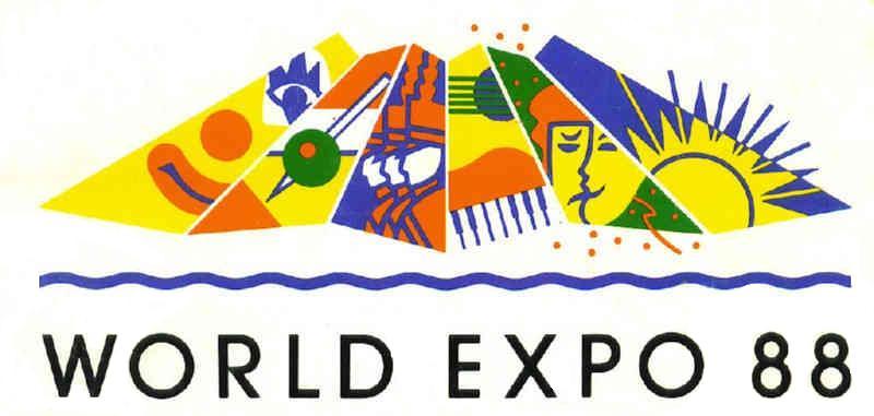 Photos The World Expo 88 Official Logos